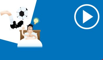 Cartoon football boot