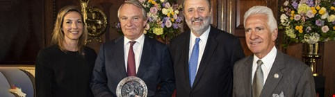 Aegon CEO receives two awards for US-Dutch business ties