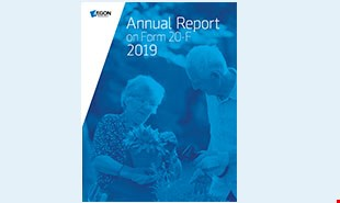 Aegon Annual Report 2019 on Form 20F