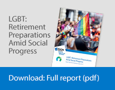 Cover of LGBT Retirement research report