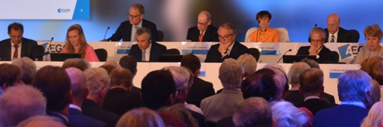 Annual Meeting of Shareholders adopts all resolutions
