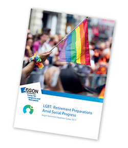 Cover of Aegon's LGBT and Retirement report