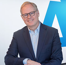Lard Friese, CEO of Aegon
