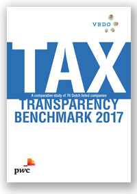 Cover of VDBO 2017 Tax Transparency Benchmark