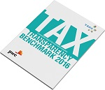 Cover of VBDO 2016 Tax Transparency Benchmark Report