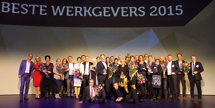 Best employer of the Netherlands award ceremony