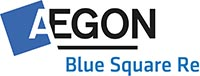Aegon Blue Square Re Logo