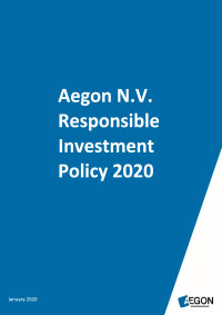 Aegon Responsible Investment policy