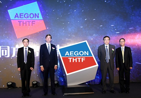 Aegon launch of Chinese joint venture with THTF
