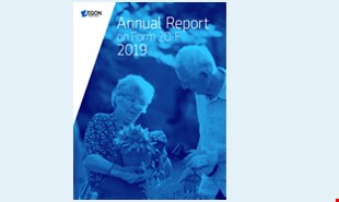 Aegon Annual Report 2019 on Form 20-F