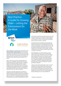 Retirement best practice case study