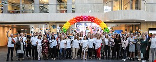 Aegon colleagues mark Coming Out day
