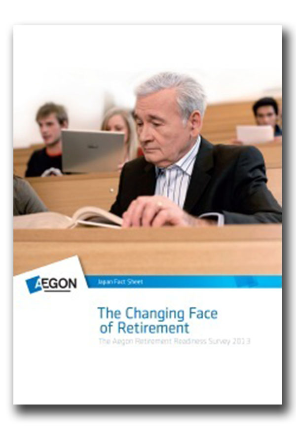 Aegon Retirement Readiness Survey Japan