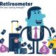 Screenshot from the Retireometer game to check your retirement readiness